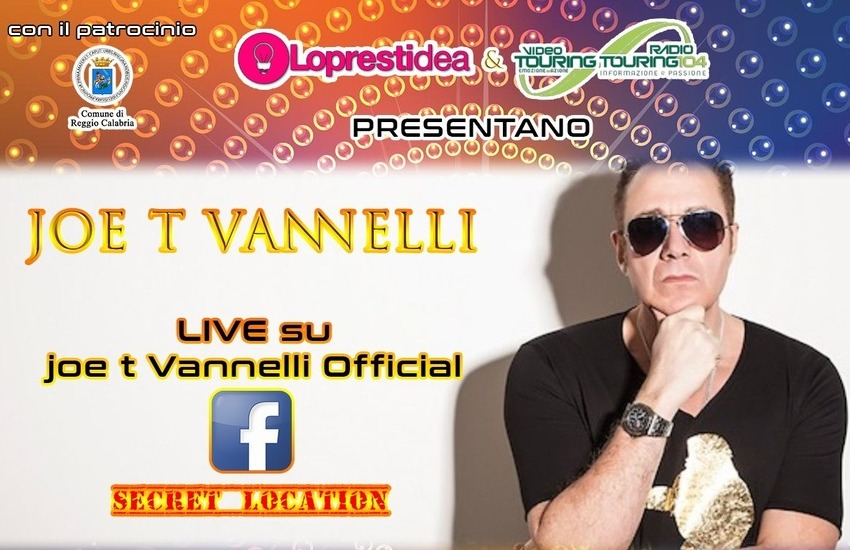 La live performance di Joe T. Vannelli atterra a Reggio Calabria