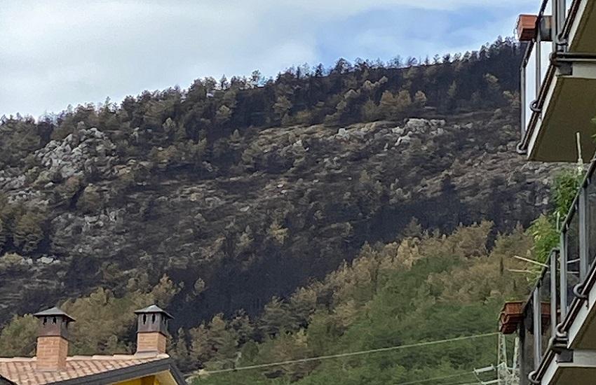 Interventi di somma urgenza: 380mila euro per le aree colpite dagli incendi