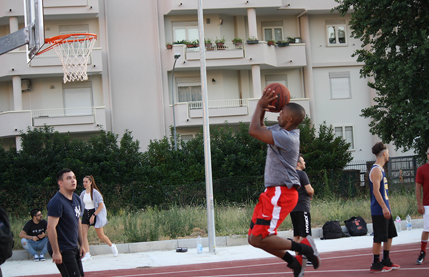 Inaugurato il campo da basket di viale Montegrappa. Costo 200mila euro