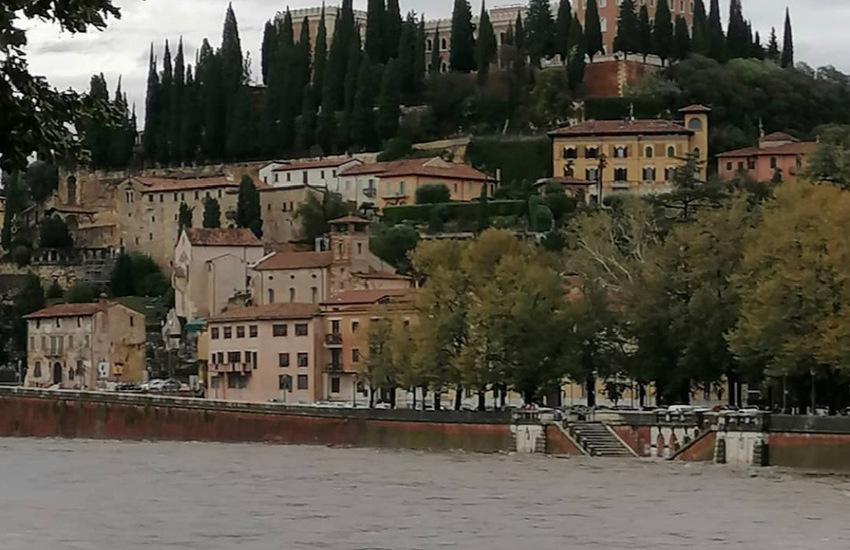 Adige, previsto il picco della piena a Verona in mattinata