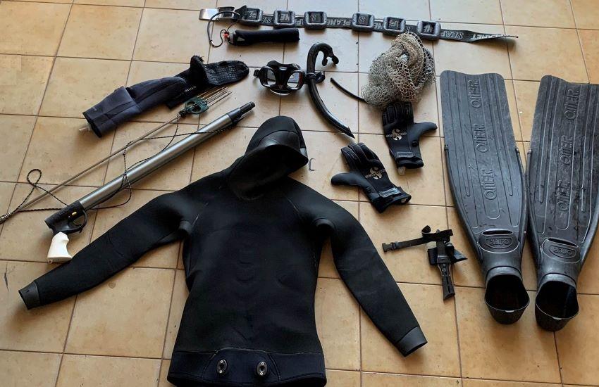 Capo Milazzo, avevano preso 5 kg di pesce nell'Area Marina Protetta: 2 denunciati