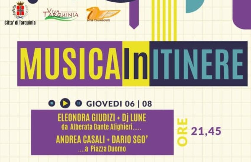 "A Tarquinia  ""Musica in itinere"""
