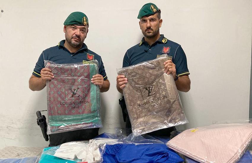 Sequestro merce contraffatta dalla GdF