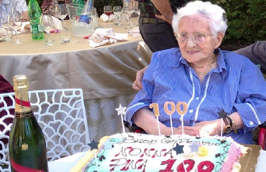 Cento anni di vita: le memorie della maestra Pina
