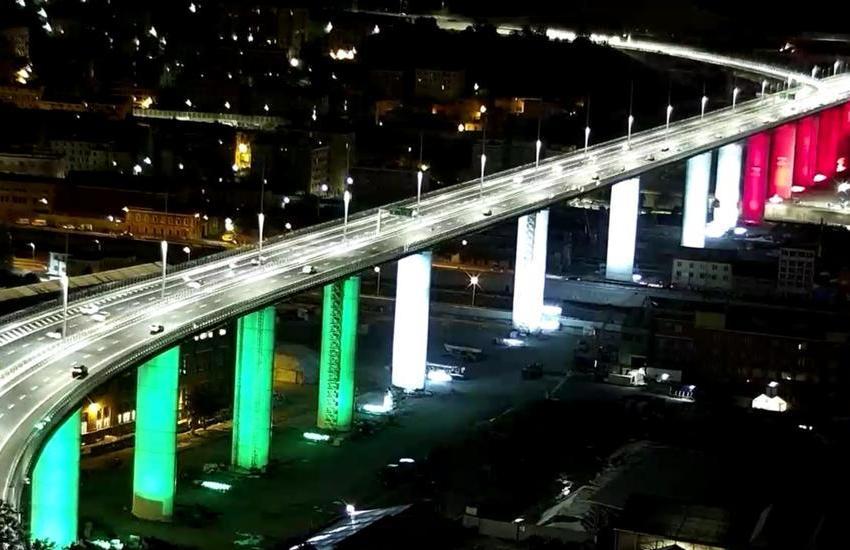 Nuovo ponte di Genova, riaperto al traffico, riprende vita
