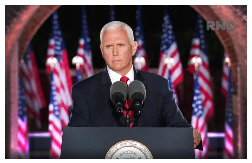 RNC 2020, day 3 'Land of Heroes'. Pence: Biden sarà il cavallo di Troia della sinistra radicale