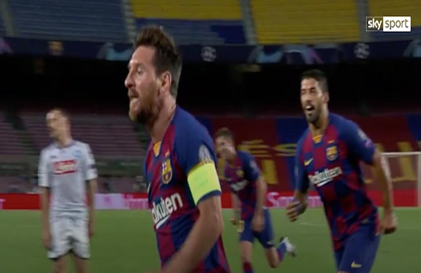 Champions, Messi