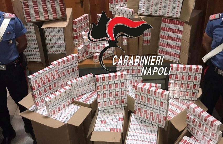 Droga e contrabbando di sigarette: perquisizioni, sequestri ed arresti a Torre Annunziata e Castellammare