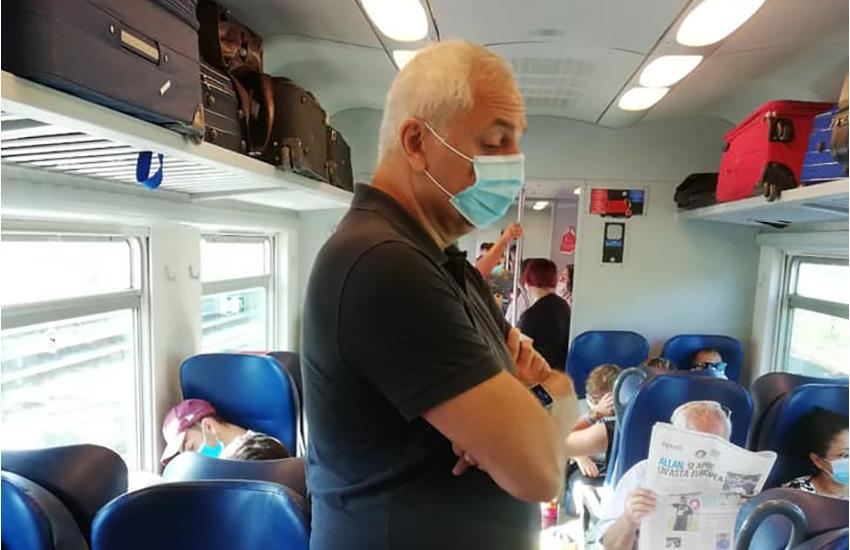 """Viaggio infernale per Nicola Caputo l'ex europarlamentare """"altro che precauzioni"""""""