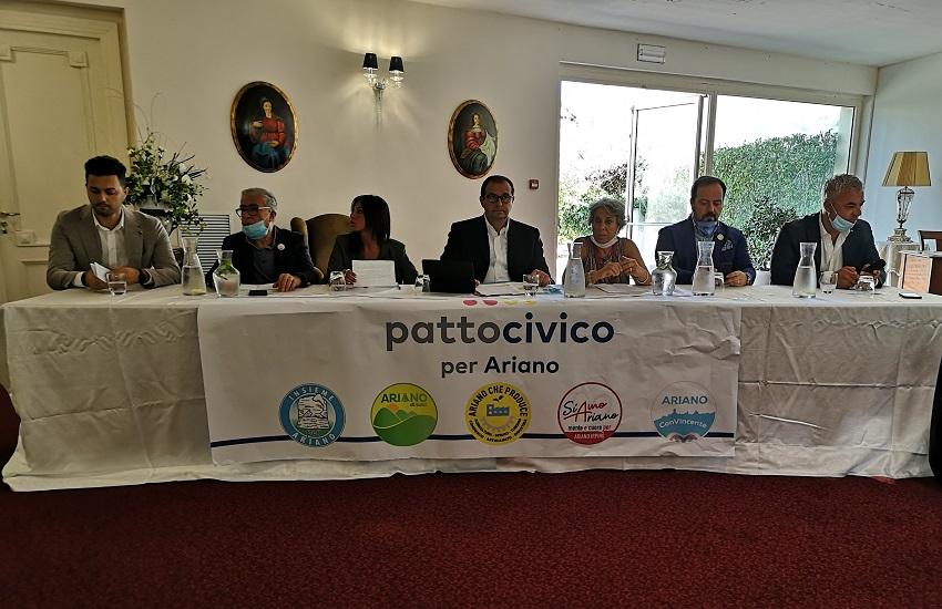 Ariano Irpino – Patto civico, Luparella apre la campagna elettorale in piazza Plebiscito