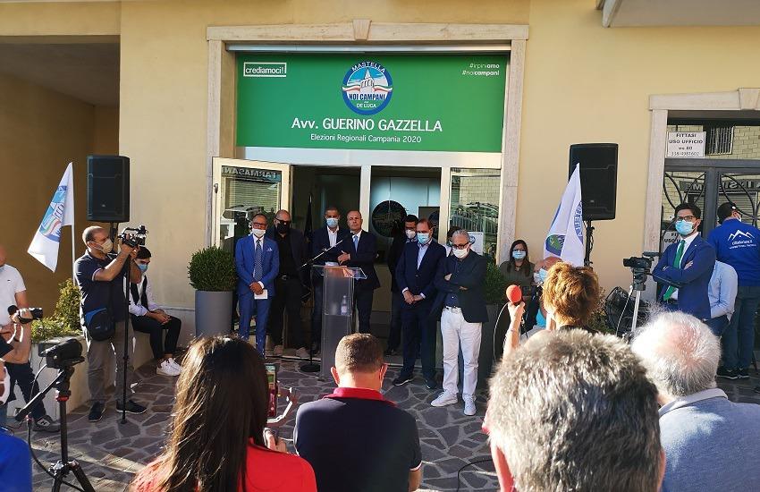 Ariano Irpino – Regionali, Gazzella apre la campagna elettorale con Mastella e Lonardo