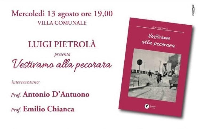 """Ariano Irpino – """"Vestivamo alla pecorara"""", il viaggio nella storia locale raccontato da Pietrolà"""