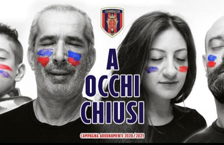 Campobasso Calcio, parte la campagna abbonamenti 2020/2021