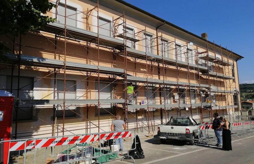 Scuole: anche nella settimana di Ferragosto,  a Carmignano si lavora per una maggiore sicurezza