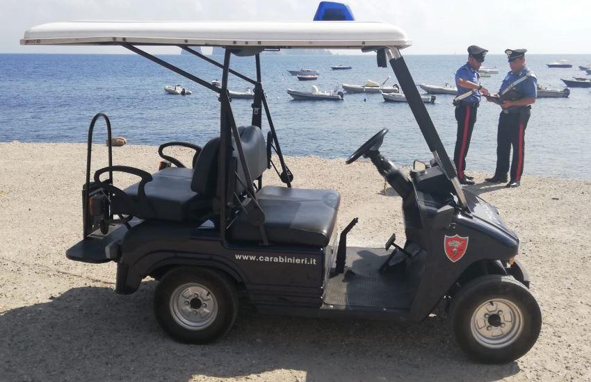 Stromboli, lancia la cocaina sulla spiaggia: 47enne messinese arrestato dai carabinieri