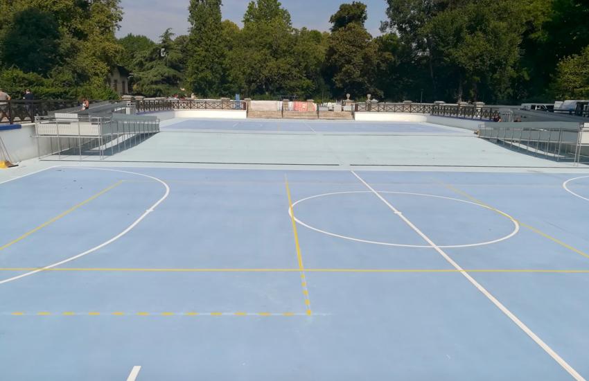 Parco Trotter, dall'ex piscina nascono due campi multisport grazie al Bilancio partecipativo