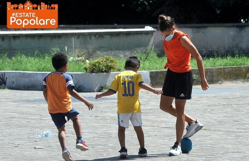 #Estatepopolare. Oggi ripartono sport e giochi per ragazzi nelle case popolari