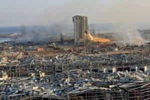 Esplosione a Beirut: sale il numero dei morti e dei feriti