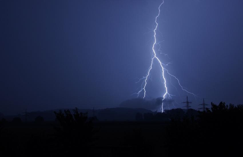 Codice giallo per temporali forti