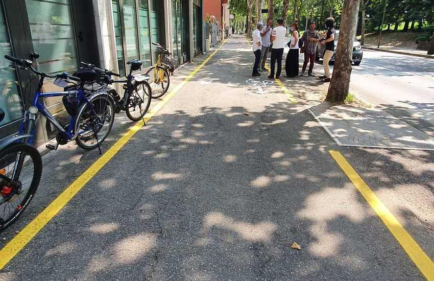 Verona, nuova pista ciclabile tra Porta Palio e Breccia Cappuccini