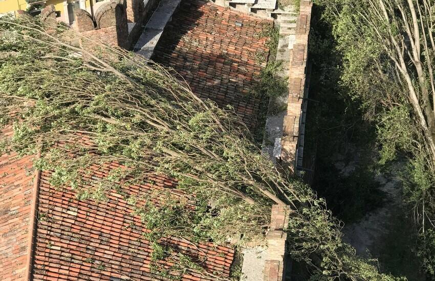 Nubifragio Verona, cinque musei chiusi per danni