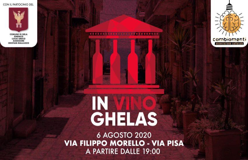 In Vino Ghelas: R-estate a Gela 2020