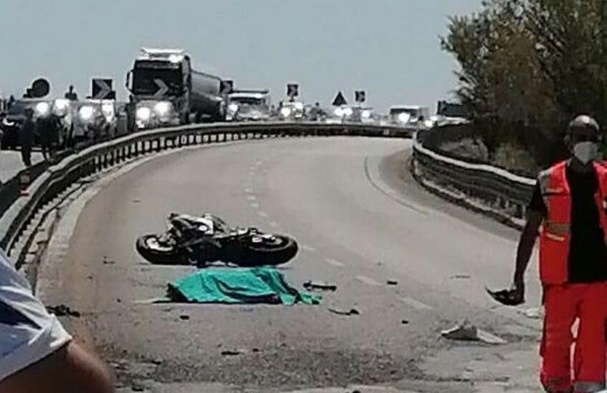 Muore motociclista 59enne di Calenzano in un incidente contro un camion