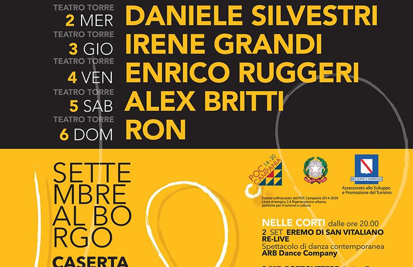 La kermesse Settembre al Borgo tra musica, teatro, libri e un pizzico di ironia