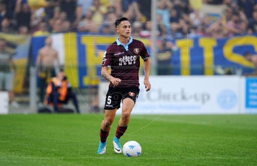 Isolamento fiduciario per calciatore della Salernitana