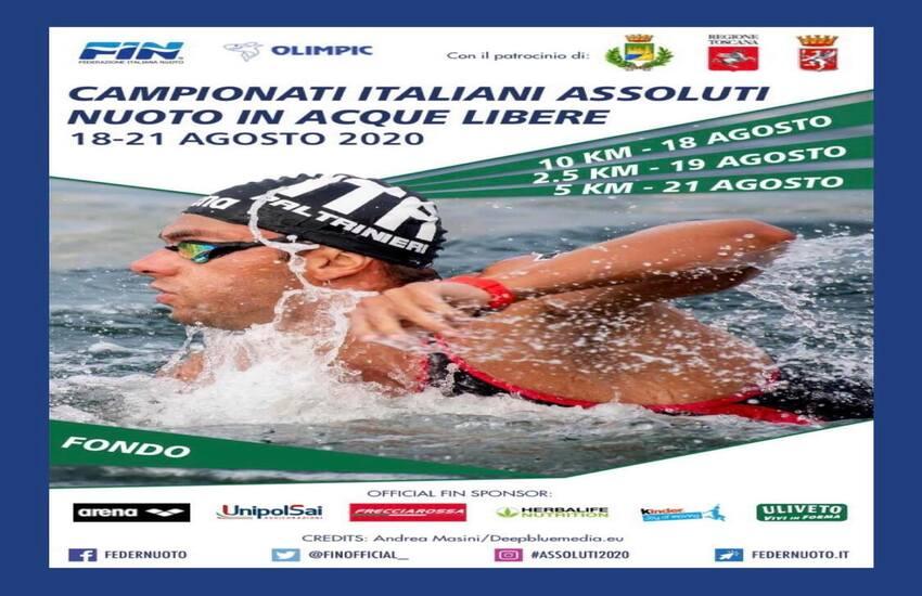 Campionato italiano di nuoto a Marina di Grosseto