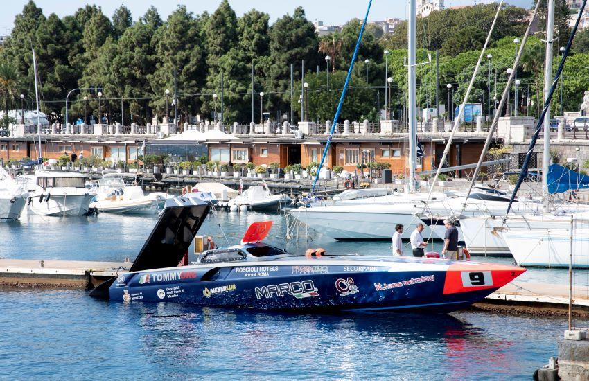Offshore, Schepici e Montavoci tentano il nuovo record mondiale sulla rotta Messina-Vulcano