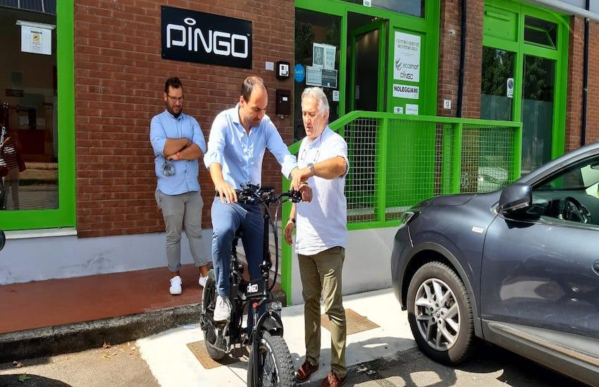 Montemurlo: Ecosmart Pingo e Tredici unite per viaggiare dolcemente in bicicletta