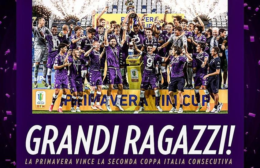 Primavera Fiorentina, successo in Coppa Italia: primo trofeo per Commisso