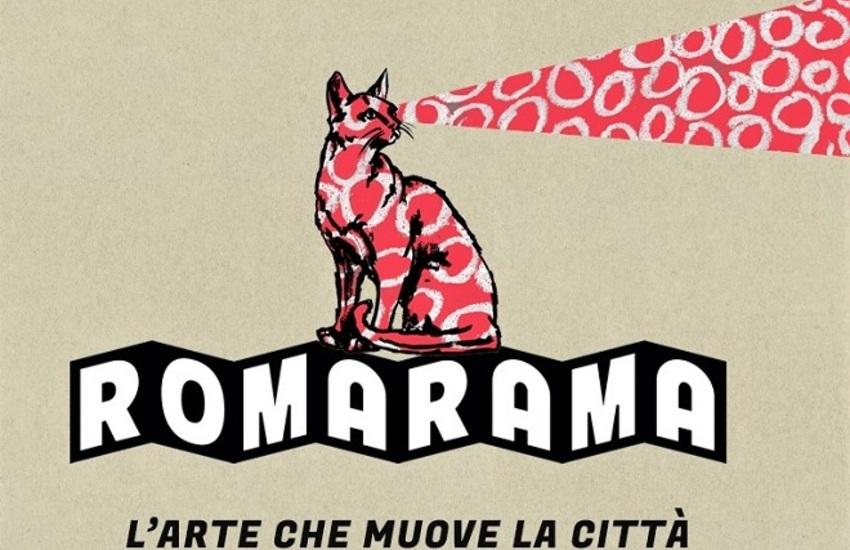 ROMARAMA, l'arte che muove la città. Gli appuntamenti fino al 23 agosto