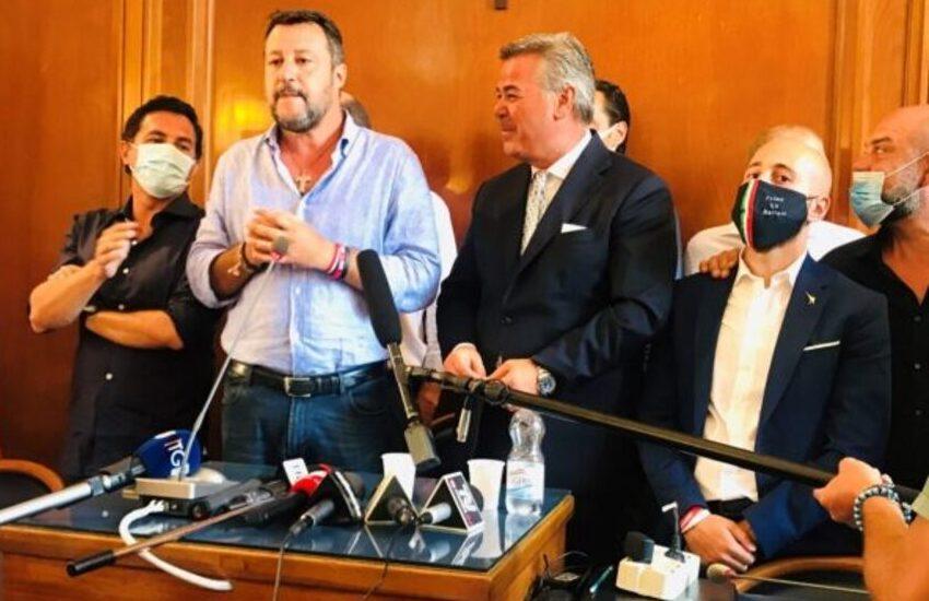 Foggia, Landella: basta angherie, lascio Forza Italia. Salvini: centrodestra al governo in Puglia, la Lega primo partito