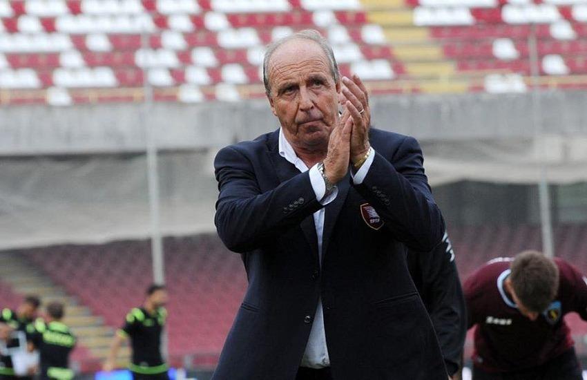 Salernitana, si dimette il tecnico Ventura