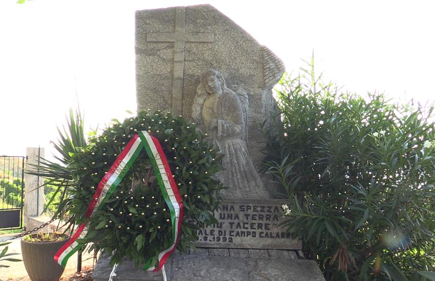 """Commemorazione Giudice Scopelliti: """"vogliamo la verità"""""""