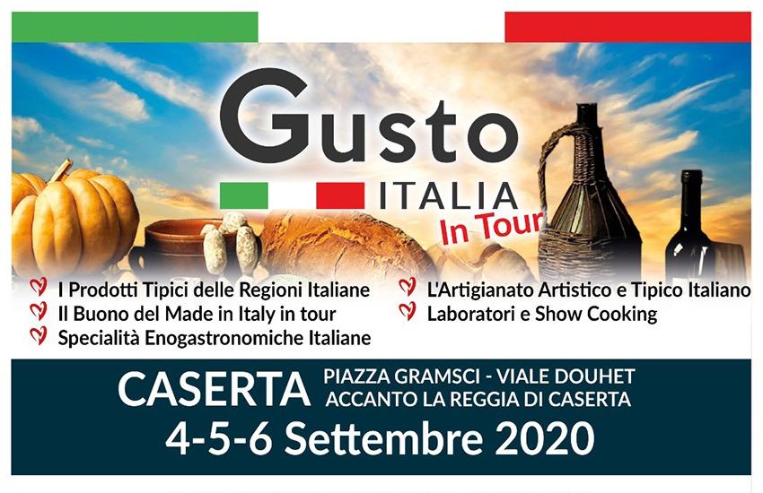 """""""Gusto Italia in tour"""" a Caserta: la spesa consapevole con produttori e artigiani"""