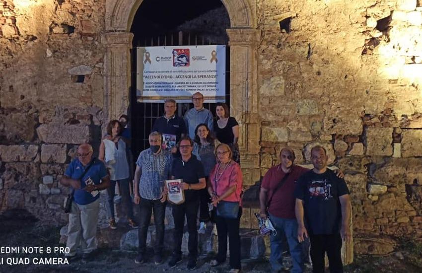 Campagna di sensibilizzazione sul cancro infantile con l'Associazione Siciliana Leucemia