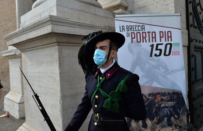 Esercito Italiano: 150° anniversario della Breccia di Porta Pia