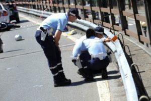 Via Belgio, incidente mortale tra scooter e motrice Tir. Deceduto 62enne