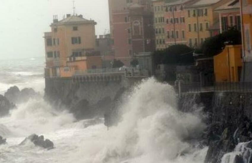 mareggiata Liguria