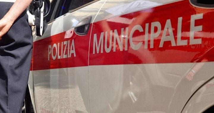 Controlli della Polizia Municipale durante la Settimana della Mobilità