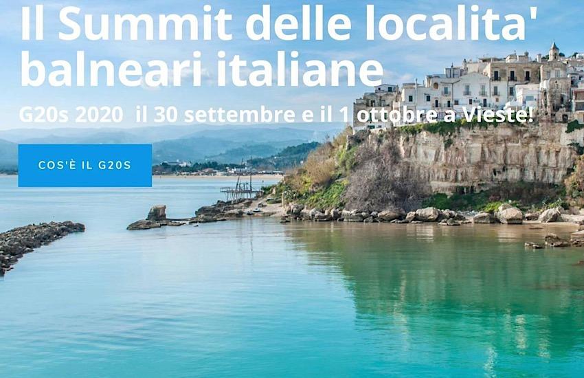 Comune di San Vincenzo a Vieste per la terza edizione del G20 Spiagge Italiane