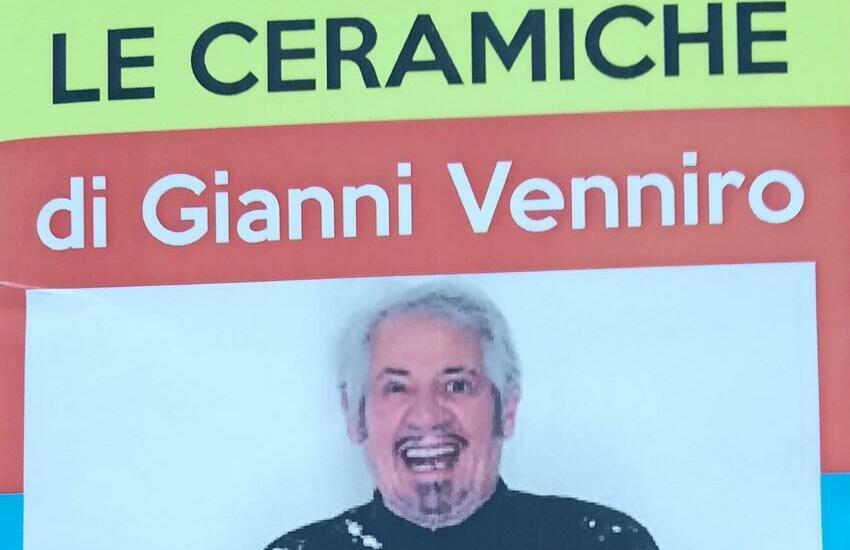 """Caltagirone, domani, nella Galleria """"Luigi Sturzo"""", la mostra """"Le ceramiche di Gianni Venniro"""""""