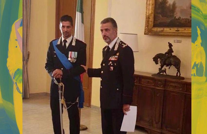 Un nuovo Capitano per i Carabinieri di Caserta. Va via Cinus e arriva Tribuzio