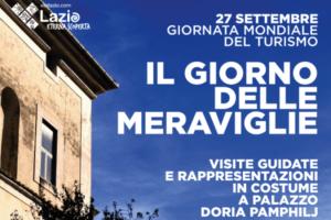 Palazzo Doria Pamphilj protagonista del  Giorno delle Meraviglie