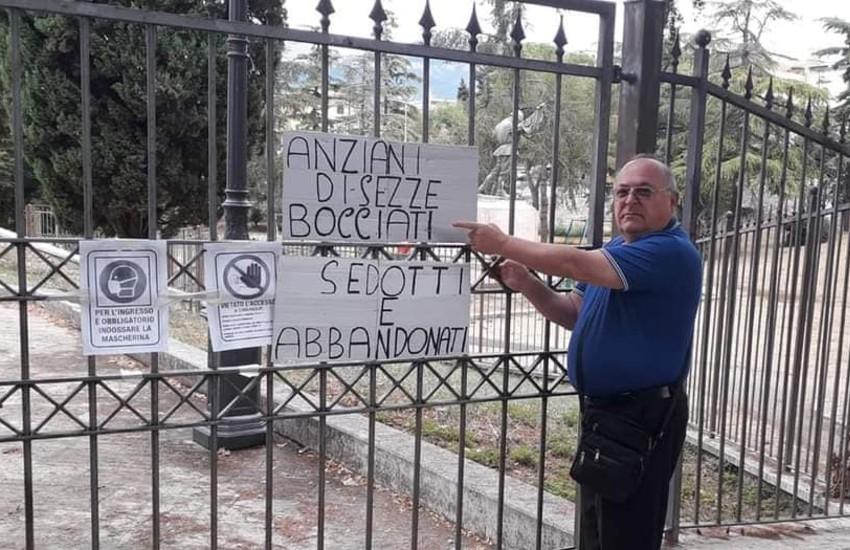 Sezze, centro anziani ancora chiuso, l'appello del presidente Giampiero Cipriani