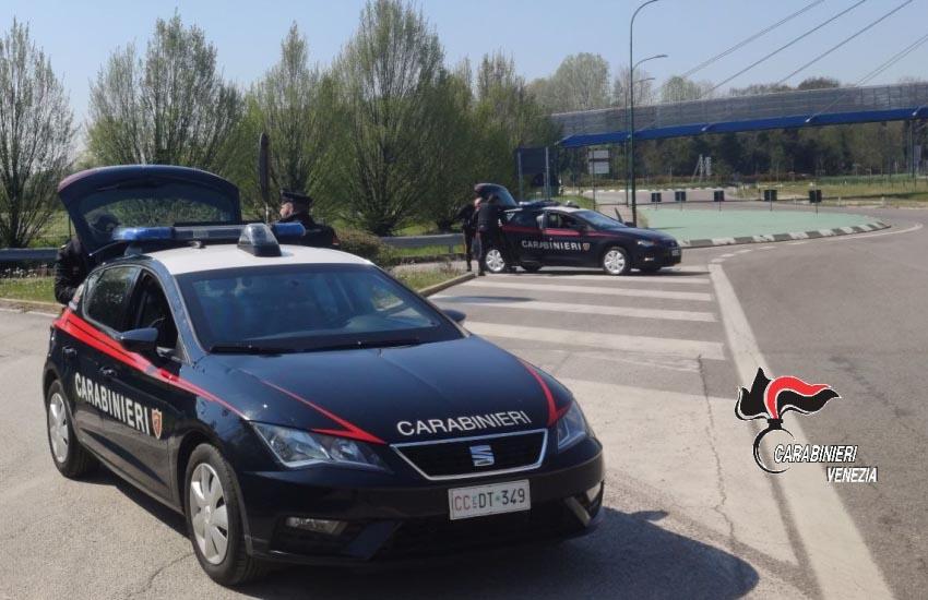 Mestre, moldavo arrestato dai Carabinieri per rapina e lesioni personali