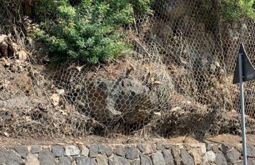 Dissesto idrogeologico, a Filicudi messa in sicurezza della strada della frazione Pecorini